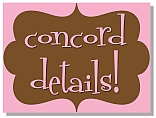 Concord Retreat Details